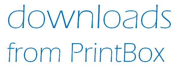 Downloads by PrintBox