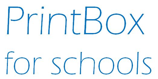 PrintBox for Schools